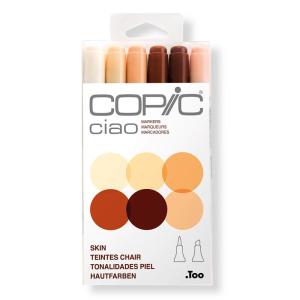 COPIC Ciao 6er Set - Hautfarben