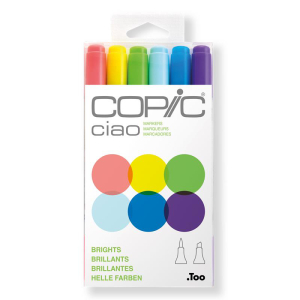 COPIC Ciao 6er Set - Helle Farben