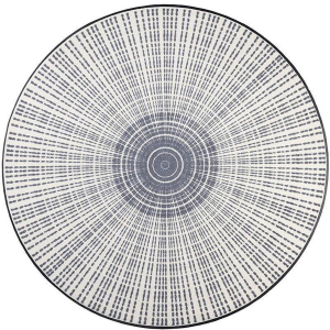 wash+dry Schmutzfangmatte Cascara grey - ø 145 cm