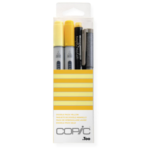 COPIC Ciao 4er Set Doodle Pack - gelb