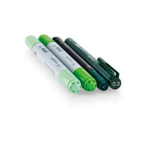 COPIC Ciao 4er Set Doodle Pack - grün