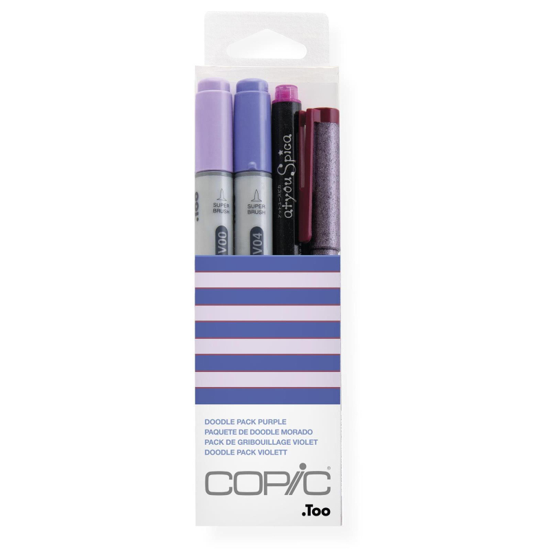 COPIC ciao • Doodle Pack • violett 4St