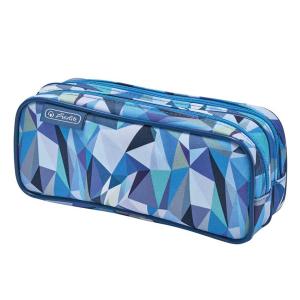 herlitz Doppelfaulenzer - Wild Animals Allover Wolf - blau