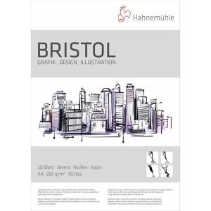 Hanemühle Bristol Zeichenpapier - 250 g/m² -...