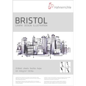 Hahnemühle Bristol Zeichenpapier - 250 g/m² -...