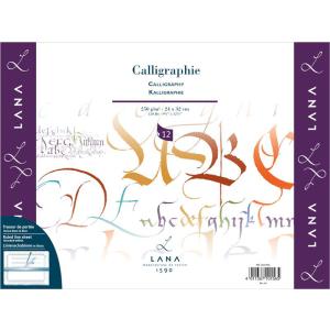 Lana Calligraphie - 250 g/m² - 30 x 40 cm - 12 Blatt