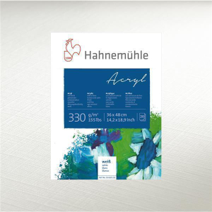 Hahnemühle Acrylmalblock - 330 g/m² - 36 x 48...
