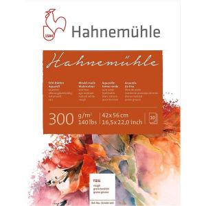 Hahnemühle Aquarellblock - 300 g/m² - rau - 42...