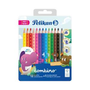 Pelikan Combino Stift Set - 12 Buntstifte - 1 Bleistift -...
