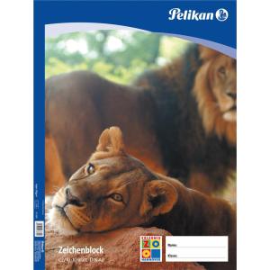 Pelikan Zeichenblock - DIN A2 - 10 Blatt