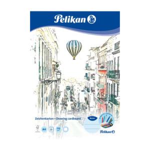 Pelikan Zeichenblock - DIN A4 - 25 Blatt
