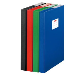 herlitz Heftbox - DIN A4 - PP - farbig sortiert