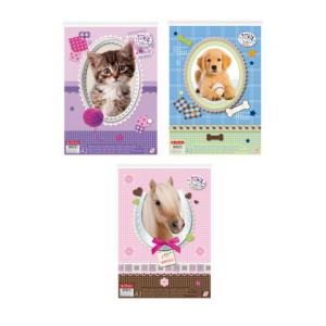 herlitz Malblock - DIN A4 - Pretty Pets - 3 Motive...
