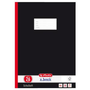 herlitz Oberschulheft - DIN A4 - Lineatur 26 - 20 Blatt