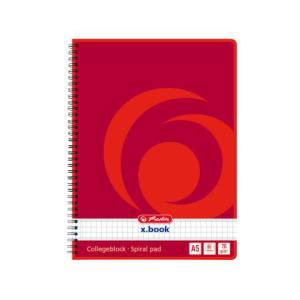 herlitz Collegeblock - DIN A5 - 70 g/m² - kariert -...