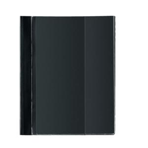 herlitz Schnellhefter - DIN A4 - Combi - PVC - schwarz