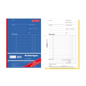 herlitz Rechnungsbuch 305 - DIN A5 -...