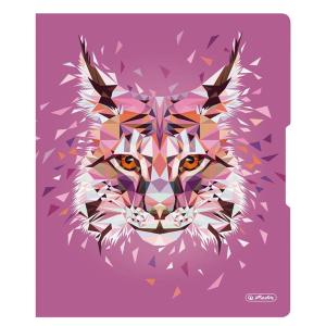 herlitz Ringbuch - DIN A4 - 2,7 cm - Wild Animals Luchs