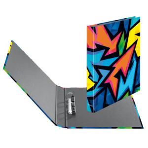 herlitz maX.file Neon Art Ringbuch - DIN A4 - Pappe
