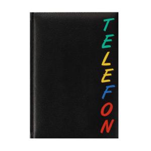 herlitz Adressbuch - DIN A5 - Rainbow schwarz - 96 Seiten...