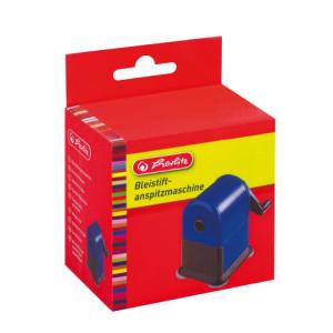 herlitz Bleistiftspitzer - blau - Anspitzmaschine mit...
