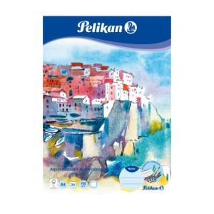 Pelikan Aquarell-Malblock - DIN A4 - 20 Blatt