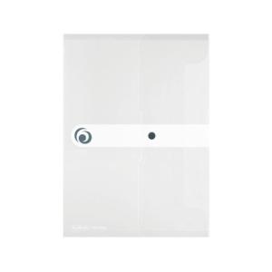 herlitz Dokumententasche - DIN A5 - PP - transparent -...