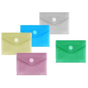 FolderSys PP-Umschlag A7quer, farb.sort klar, 10 Stück