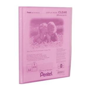 Pentel Praesentationsmap. Clear A4/30 rs...