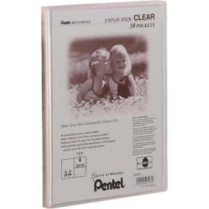 Pentel Praesentationsmap. Clear A4/30 tr...