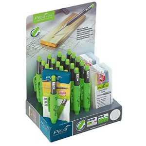 Pica DRY Graphit Display - 20 Graphit-Marker + 10...