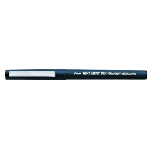 Pentel Tintenroller Document Pen 0,25mm sw dokumentenecht