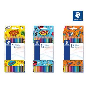 STAEDTLER Buntstift - Sechskantform - 3 mm - 12 Farben