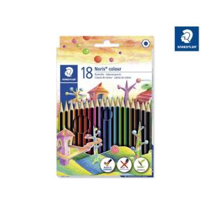 STAEDTLER Noris colour 185 Buntstifte - Dreikantform - 3...