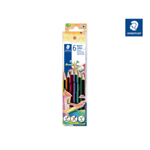 STAEDTLER Noris colour 185 Buntstifte - Sechskantform - 3...