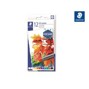 STAEDTLER 2420 Öl-Pastellkreide - 11 mm - 12 Farben