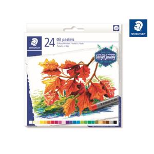 STAEDTLER 2420 Öl-Pastellkreide - 11 mm - 24 Farben