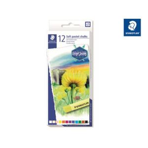 STAEDTLER 2430 Soft-Pastellkreide - 10 mm - 12 Farben