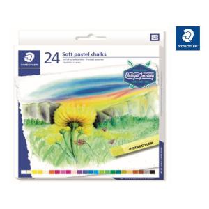 STAEDTLER 2430 Soft-Pastellkreide - 10 mm - 24 Farben