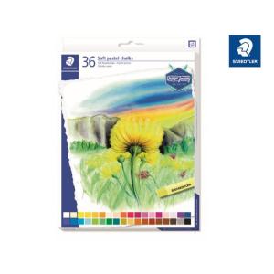 STAEDTLER 2430 Soft-Pastellkreide - 10 mm - 36 Farben