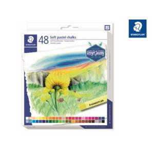 STAEDTLER 2430 Soft-Pastellkreide - 10 mm - 48 Farben