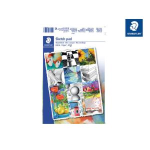 STAEDTLER Skizzenblock - DIN A4 - weiß - 120 g/qm -...