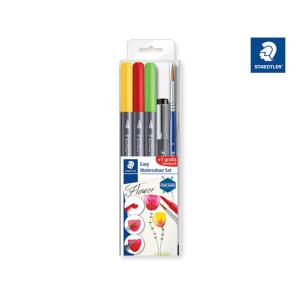 STAEDTLER 3001 Easy Watercolour Set - Flower -...