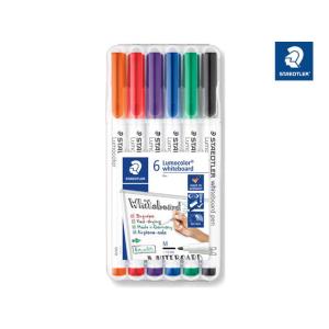 STAEDTLER Lumocolor Whiteboard-Marker - 1 mm - 6er Box