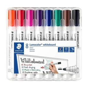 STAEDTLER Lumocolor Whiteboard-Marker - 2 mm - 8er Box