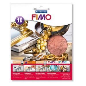 STAEDTLER FIMO 8781 Blattmetall - kupfer - 10 Stück