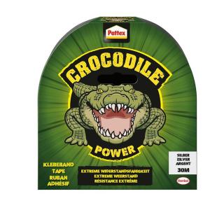 Pattex Power Tape silber Pattex Crocodile 30 m x 48 mm