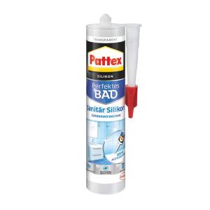 Pattex Silikon Sanitär 300ml transp