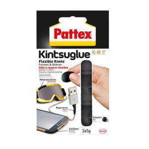 Pattex Knete Kintsuglue - PFK5S - schwarz - 15g