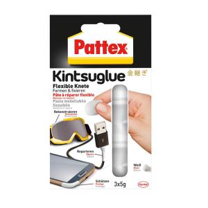 Pattex Knete Kintsuglue weiß 3x5g